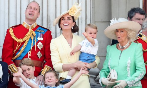 Prince Charles and Camilla send Prince Louis birthday wishes with sweet photo