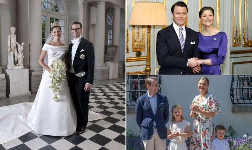 Crown Princess Victoria and Prince Daniel's sweet love story in photos as they mark anniversary