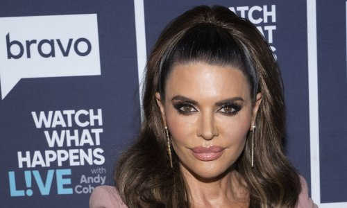 Lisa Rinna wows in glamorous see-through gown as she reveals hilarious red carpet faux pas