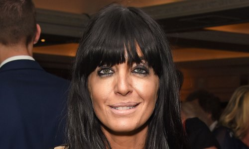 Claudia Winkleman commands attention in black dress for Strictly live show