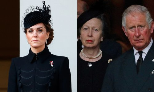 Royal family to wear mourning bands on public engagements in honour of Prince Philip
