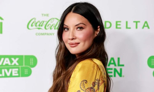 Olivia Munn looks unrecognisable in rare photo with sister