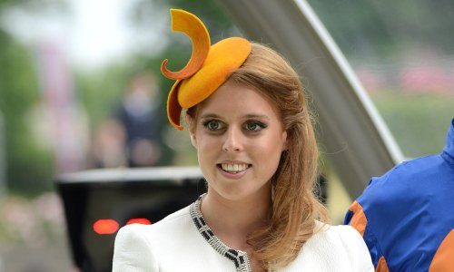 Princess Beatrice shows off growing baby bump during public appearance