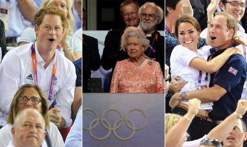 When royals steal the show at the Olympics - Kate Middleton, Prince Harry and more