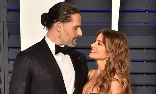 Sofia Vergara marks special occasion in curve-hugging strapless dress