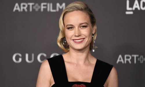 Brie Larson stuns in a tie-dye top - and it's less than $40