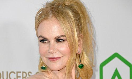 Nicole Kidman is perfection as she jogs in crop top