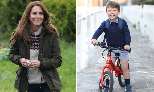 Prince Louis has another adorable hobby, mum Kate reveals