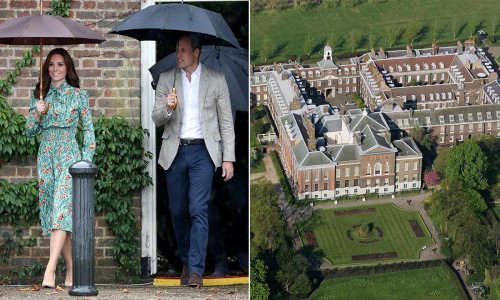 Kate Middleton and Prince William don't live alone at Kensington Palace