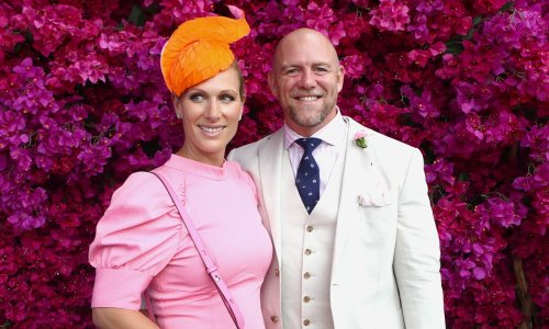 Zara Tindall's husband Mike makes surprising announcement