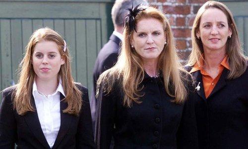 Sarah Ferguson's sister Jane reacts to Princess Beatrice's royal baby joy