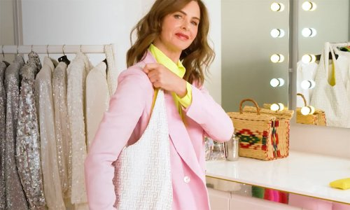 Trinny Woodall has launched a free tote bag of dreams - and it has a very special feature