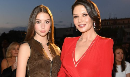 Catherine Zeta-Jones' daughter looks breathtaking in beautiful beach snapshot