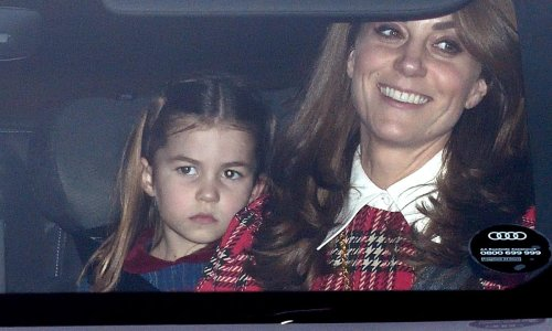 Princess Charlotte's sell-out Christmas jumper is back and cuter than ever