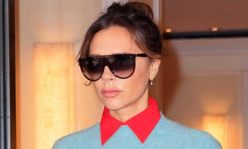Victoria Beckham's daughter Harper mistook her morning protein shake for frozen margarita – and it's too funny!