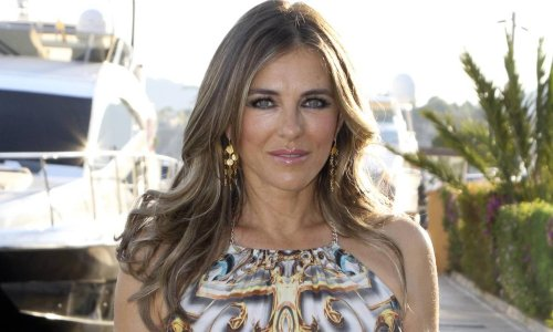 Elizabeth Hurley shares stunning bikini selfie to announce exciting news