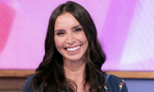 Christine Lampard's celestial dress is quite literally out of this world
