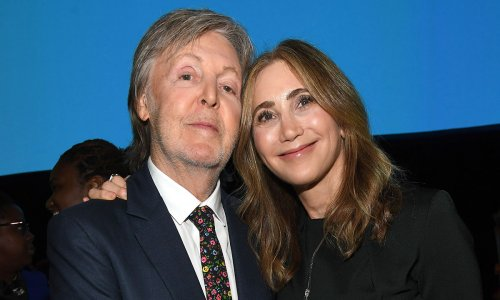 Sir Paul McCartney's wife Nancy Shevell stuns in figure-hugging dress on rare date night