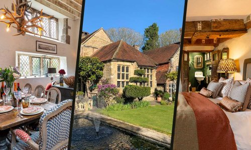 This stunning Elizabethan Manor is fit for royalty – find out who's stayed there