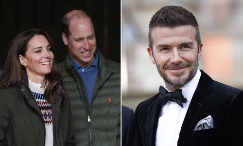 Prince William and Kate Middleton team up with David Beckham for mental health campaign