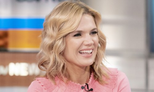Charlotte Hawkins wows in fitted pink mini dress and knee-high boots for special reason
