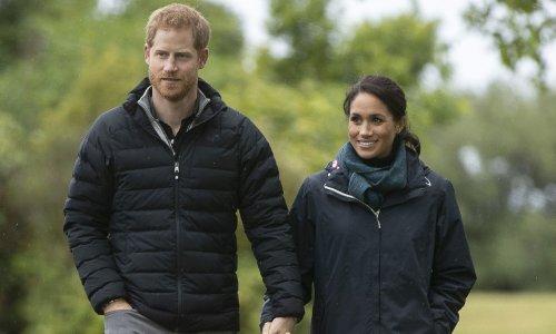 Prince Harry and Meghan Markle's fairytale garden - all the photos