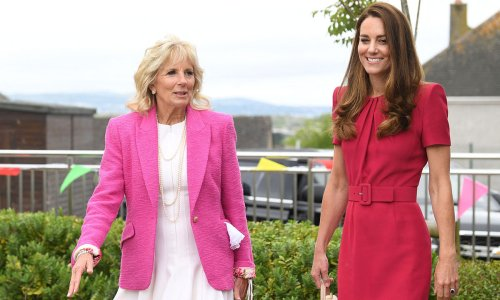 Kate Middleton asked about Lilibet Diana during outing with Jill Biden - see her response