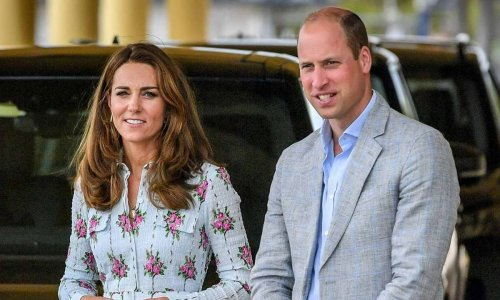 Prince William and Kate Middleton's holiday guest revealed