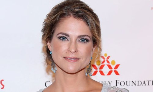 Princess Madeleine of Sweden just wore the chicest bohemian sundress