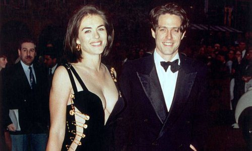 Elizabeth Hurley's iconic Versace dress makes a comeback - and you won't believe who wore it