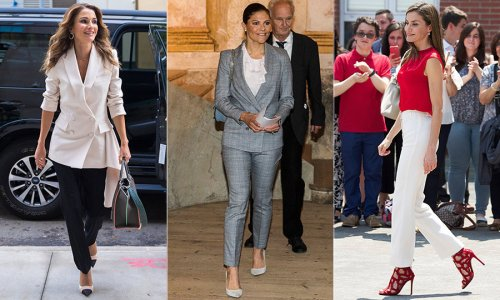 Royals who have made a statement wearing trousers - HELLO! Canada