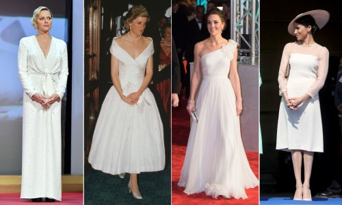 10 royal red carpet looks for best bridal inspiration: Princess Charlene, Kate Middleton, Princess Diana and more