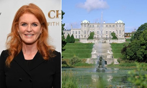 Sarah Ferguson's Irish family home is twice the size of Royal Lodge – inside