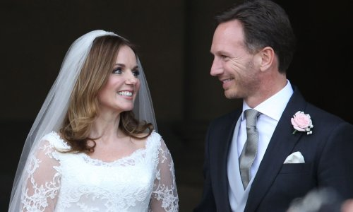 Geri and Christian Horner's incredible wedding day – all the details