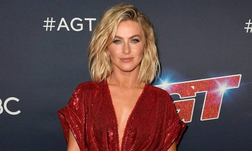 Julianne Hough played golf in a look you would never expect