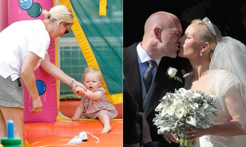 Zara Tindall's cutest moments with her family - HELLO! Canada