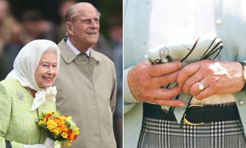 The Queen's engagement ring pays tribute to Prince Philip's family – details