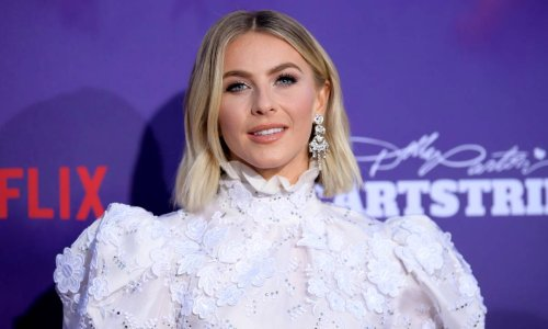 Julianne Hough stuns in a makeup-free selfie in unicorn pajamas we want too