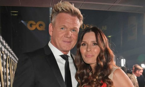 Gordon Ramsay's wife Tana sparks major reaction as she dances in her wedding dress after 25 years