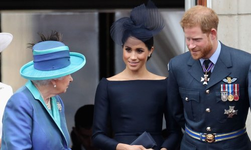 Prince Harry and Meghan Markle give special birthday gift to the Queen