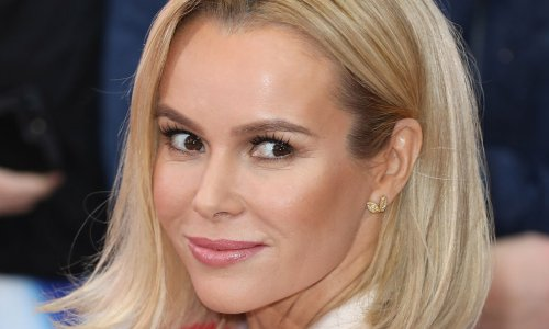 Amanda Holden's cut-out mini dress leaves fans in awe