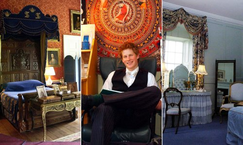 Inside the royal family's private bedrooms: Prince William, Prince Harry, more