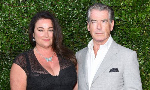 Pierce Brosnan and wife Keely's throwback wedding photos will leave you stunned
