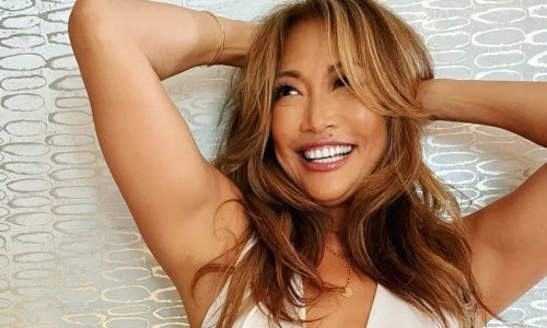 Dancing With The Stars judge Carrie Ann Inaba rocks daring low-cut look