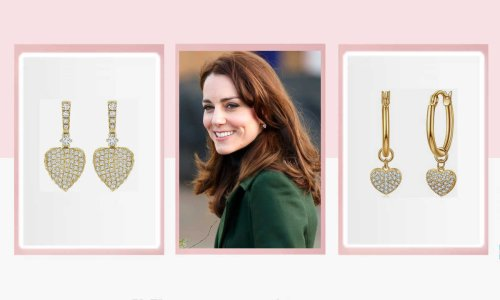 Remember Kate Middleton's £2,300 heart-shaped earrings? Amazon sells a £14.99 version