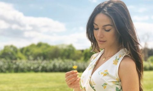 Michelle Keegan's £32 strappy summer dress sells out instantly