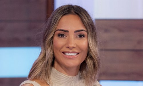 Frankie Bridge stuns on Loose Women with slinky cut-out top - and new eyebrows