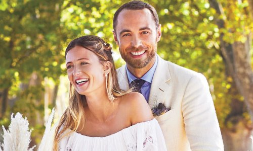 Pick up HELLO! Canada's new issue to see James Middleton and Alizee Thevenet's wedding album