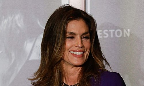 Cindy Crawford, 55, wows in lace bodysuit and killer heels as fans react