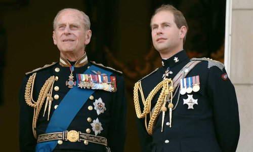 Prince Edward to inherit Prince Philip's title - but not yet